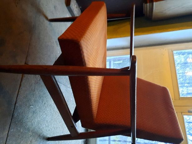 Fotel PRL lisek do renowacji