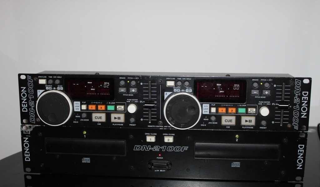 DENON DN-2100F Wysokiej jakości Mixer dj-ski 2 płytowy Wysyłka