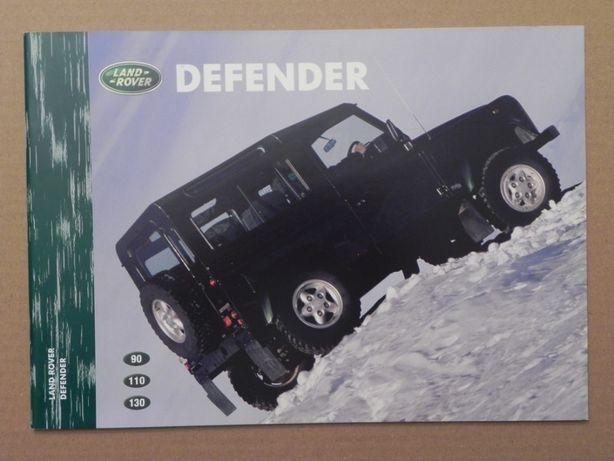 Prospekt - LAND ROVER DEFENDER - 1998 r