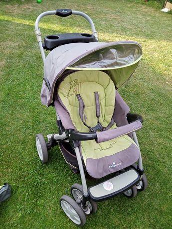 Wózek dziecięcy, duzy, wygodny, skladany