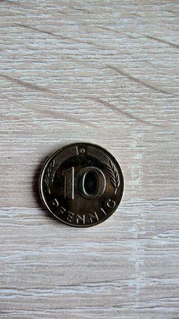 Moneta Niemcy 10 pfennig