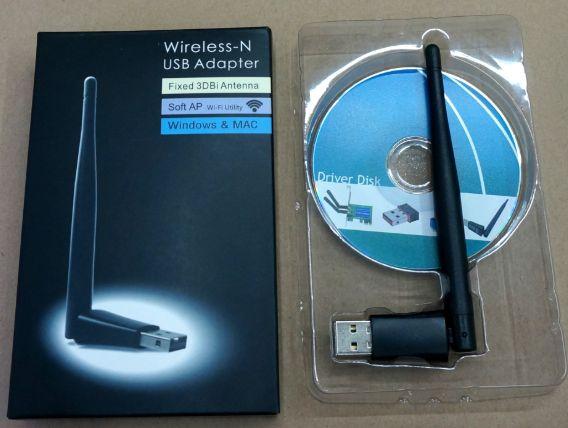 BOX USB Wi-Fi адаптер Ralink RT 7601 3db сетевая T2 приставка/спутник