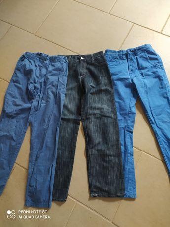zestaw spodni dla chłopca 146 - 152 okazyjna cena