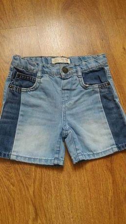 Spodenki jeansowe Zara rozmiar 86