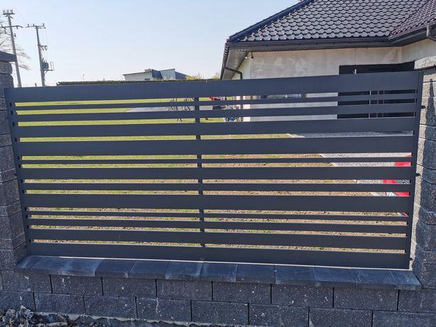 Aluminiowe ogrodzenie