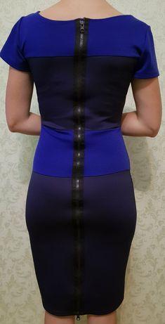 Плаття/платье темносинее