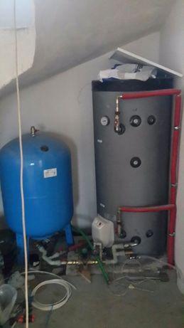 Монтаж отопления,водопровода и канализации.