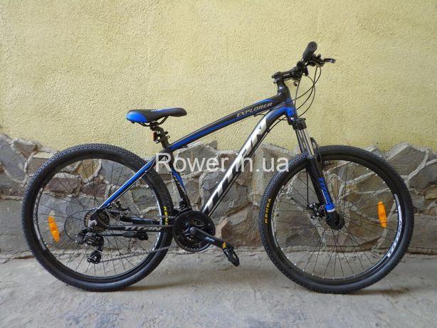 Новий велосипед Titan Explorer 27.5 алюмінієвий / Вилка з блокатором