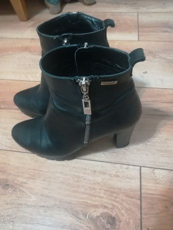Kozaki damskie buty obuwie Lasocki rozmiar 36 ocieplane
