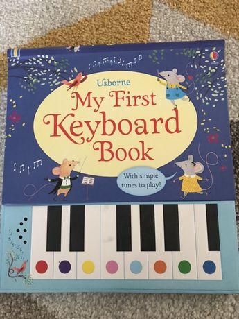 Książka usborne my first keyboard