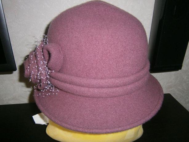 Польская шляпка 100%шерсть
