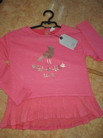 Кофта туника блуза Zara girls 128см