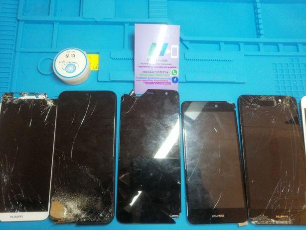 Reparo ecrãs Samsung, iPhone, xiaomi, Huawei, wiko, LG, qualquer mode