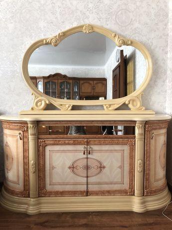 Тумба-комод с зеркалом