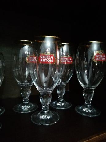 Copos de cerveja STELLA ARTOIS