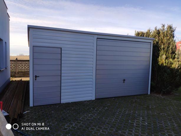 Garaż blaszany 5x6 garaż garaże blaszak wiata hala