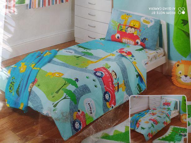Новый набор постельного белья детское мальчику комплект George Safari.