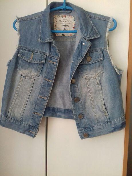 Kamizelka jeansowa Denim 40 L M