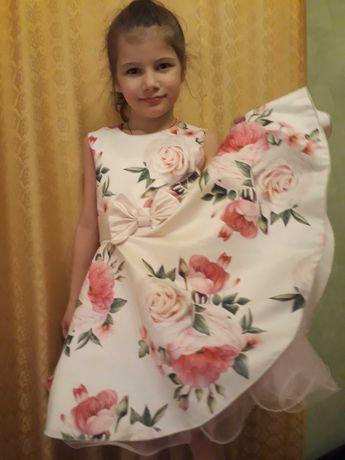 Платье нарядное в стиле стиляги