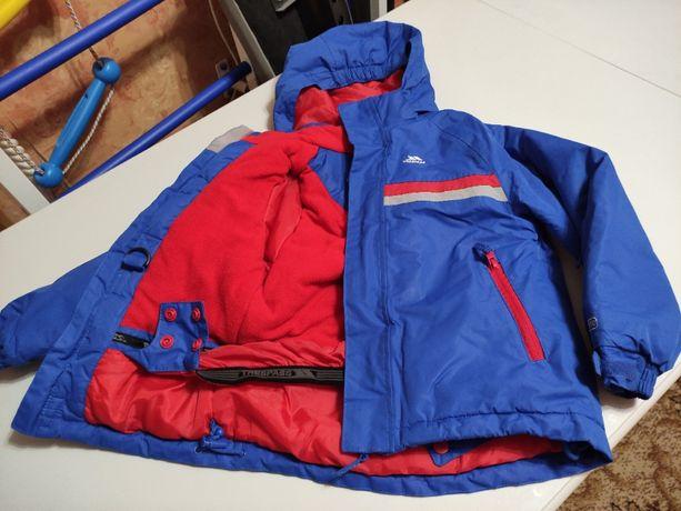 Лыжная термокуртка Trespass на мальчика 5-6 лет