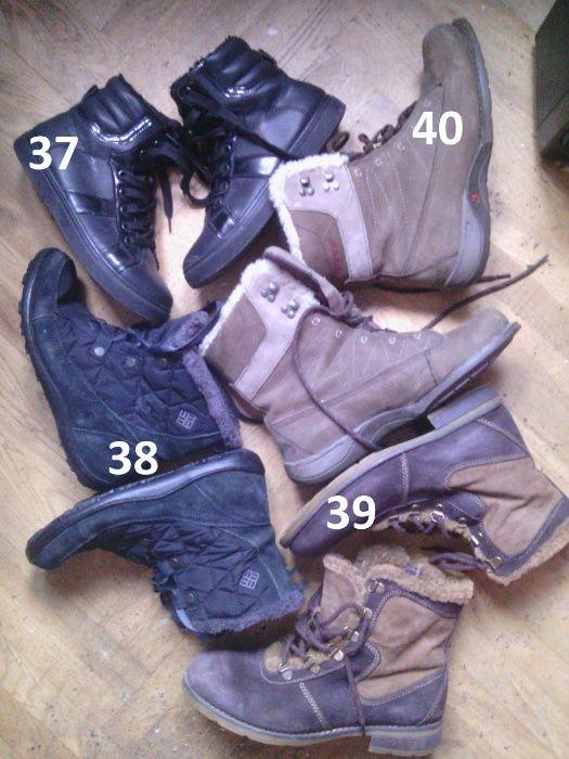 зимняя женская обувь ботинки сапоги Zara куртки шуба Киев - изображение 1