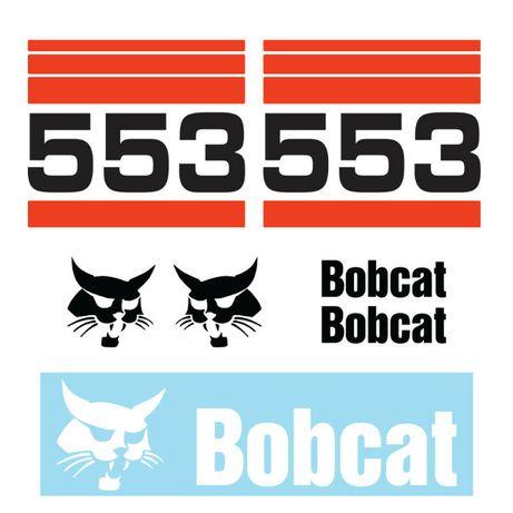 Kit autocolantes Bobcat vários modelos