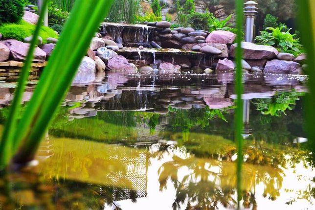 Искуственные водоемы, биоплато, басейны, ручьи, водопады