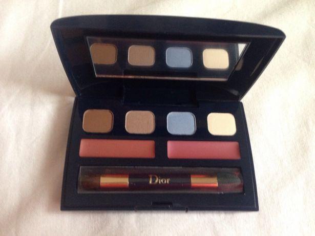 Maquilhagem Dior: palette com sombras olhos e batons NOVOS