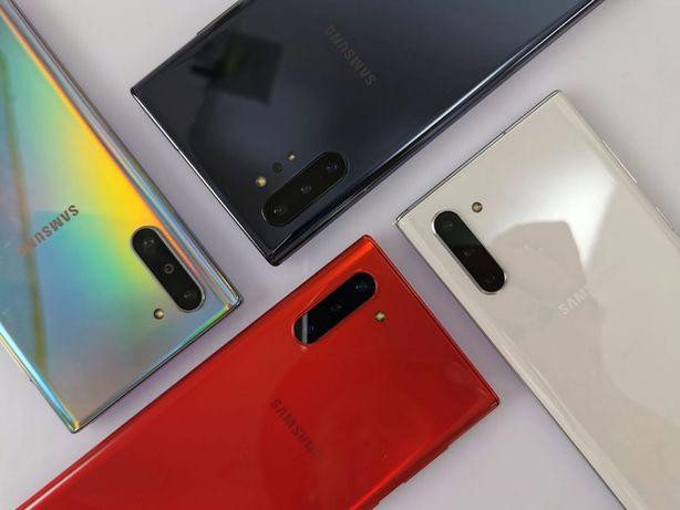 Samsung Galaxy Note 10 разные цвета, объёмы памяти и процессоры