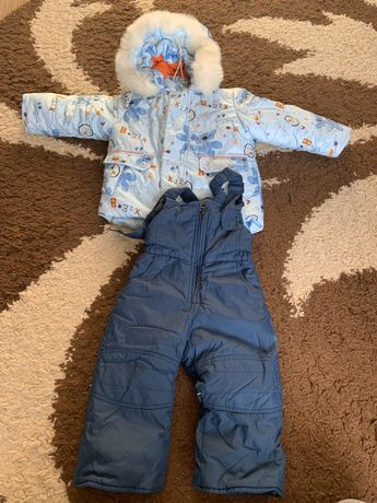 Детский комбинезон/куртка и полукомбинезон/ штаны/Evolution