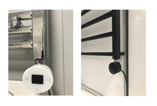 ТЭН для полотенцесушителя HEB-300/HEW-300 черный/белый (Monsal)