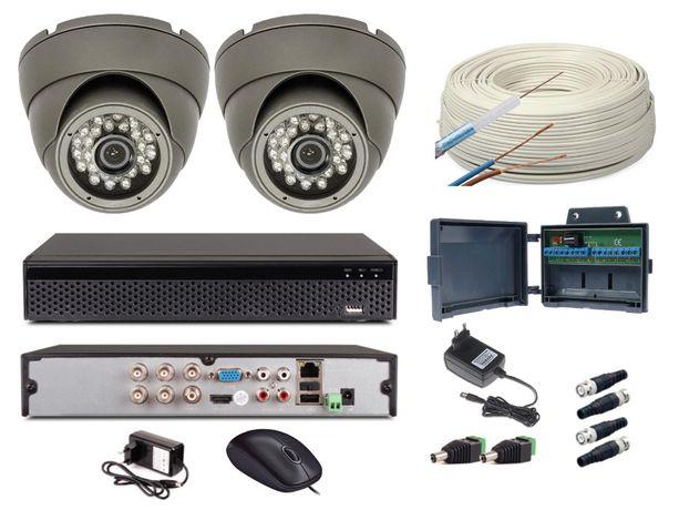 Monitoring DOMU/DZIŁKI/FIRMY/BIURA - 2 kamery HD - podgląd na tel...