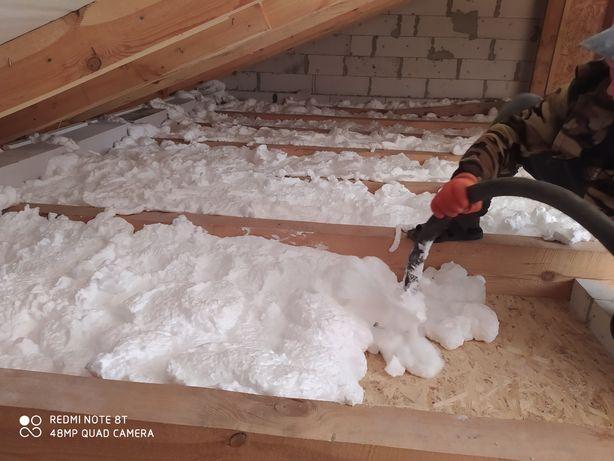 АЦИЯ! Утеплитель для стен, потолок, пенопласт, пеноизол, базальт