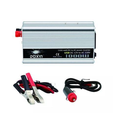 Inversor de corrente para carro bateria inverter 12v - 220v 230v 1000W
