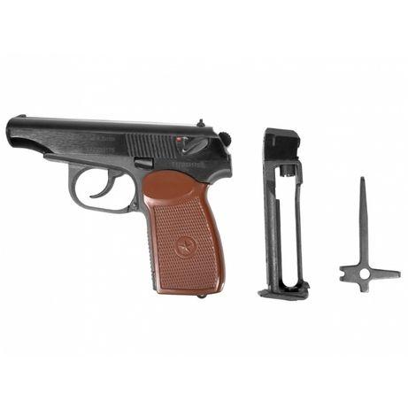 Pistolet wiatrówka Baikał MP-654K-20 Makarov 4,5 mm BB CO2 -WYPRZEDAz