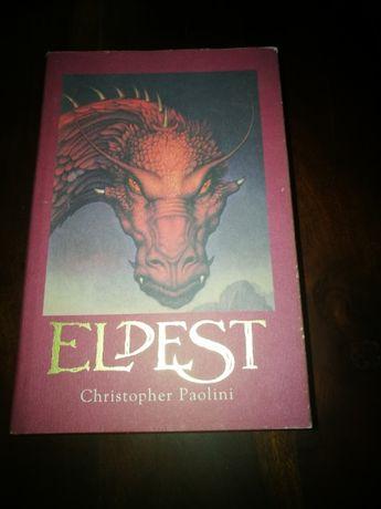 Eldest - Christopher Paolini (capa dura INGLÊS)