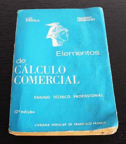 Elementos de cálculo comercial para o Ensino técnico Profissional