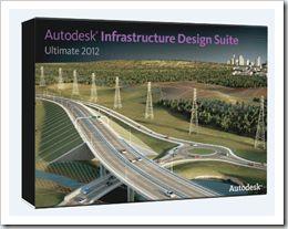 Autodesk Infrastructure Des. Suite Prem. 2012 Civil 3D, MAP, AutoCad,