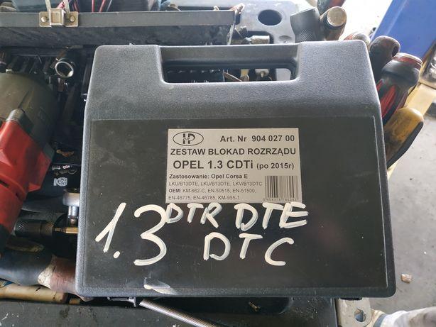 Blokada rozrządu Opel Corsa 1.3 CDTI kod silnika DTR/DTE/DTC