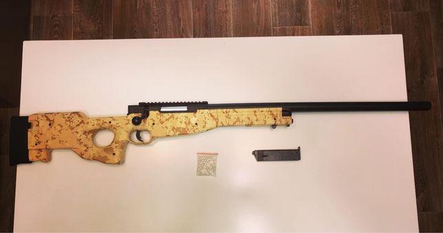 Металева пневматична Гвинтівка AWP «Слон» розмір 1в1, іграшкова