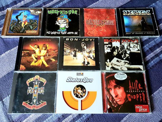 Lote de 10 CDs - Hardrock (Portes Grátis)