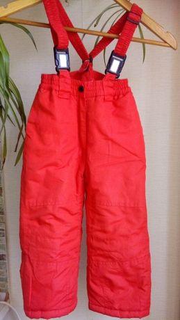 Зимние штаны, полукомбинезон 98 рост