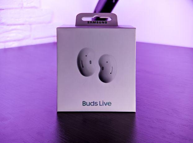 Galaxy Buds Live White (R180) TWS + Офіційна Гарантія 2 роки + Чохол