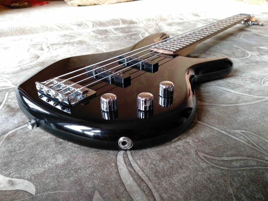 Ibanez gsr180 bk + 2 dimarzio ultrajazz и Fender rumble 25 ОБМЕН Степная - изображение 1