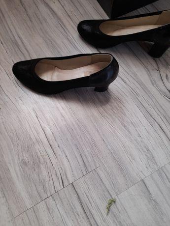Buty pantofle czarne