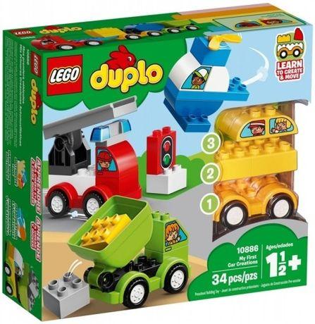 """Klocki lego duplo """"moje pierwsze samochody"""""""