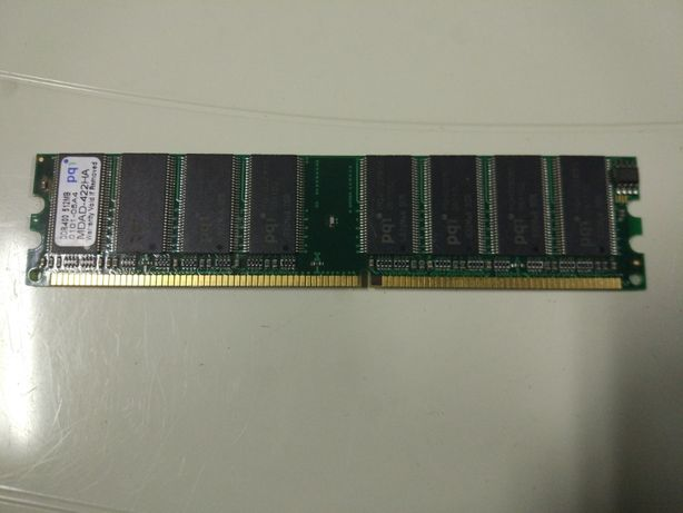 Memória RAM DDR400 PQi 512 MB