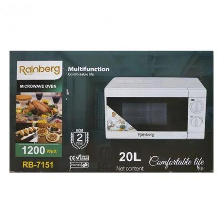 Микроволновая печь Rainberg RB-7150 20 л 1200W (Черный,Белый)