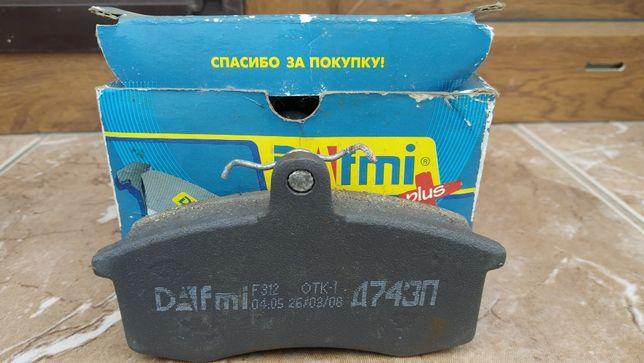 DAFMI Колодки тормозные ВАЗ 2101-2107 WVA 20166/ВАЗ 2108-2109 WVA 2117