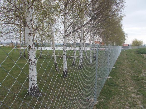 SIATKA ogrodzeniowa -Kompletne Ogrodzenie 1,5m -DOSTAWA GRATIS od 50mb